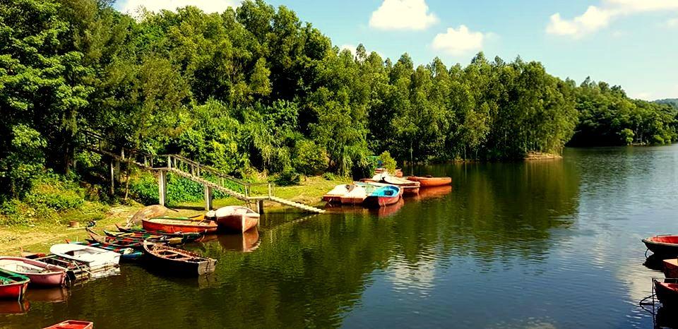 Mohamaya Lake & Boat