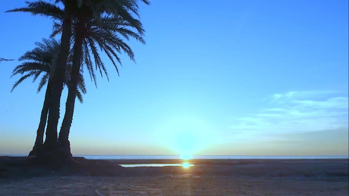 Sun Rising at Nijhum Dip