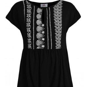 T-Shirt mit Ethno Muster von Deha bei RUPP Moden