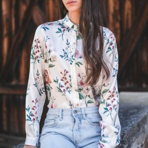 Bluse Pamina Silk von glücklich bei Rupp Moden