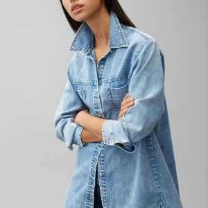 Oversize Jeanshemd von Marc O'Polo bei RUPP Moden