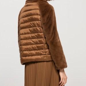 Sportive Outdoor Jacke mit Fake-Fur von Luisa Cerano erhältlich bei RUPP