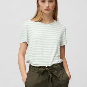 T-Shirt aus elastischem Viskose-Jersey