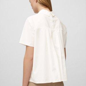 Bluse mit Falten-Details von Marc O'Polo bei RUPP Moden