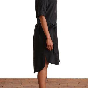 Kleid Julita aus Satin Lyocel von Elemente Clemente bei RUPP Moden