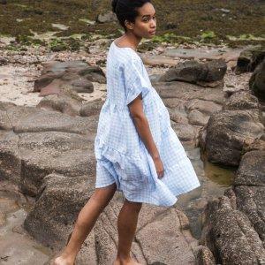 Quila-Gee Linen Dress von Beaumont Organics bei RUPP Moden