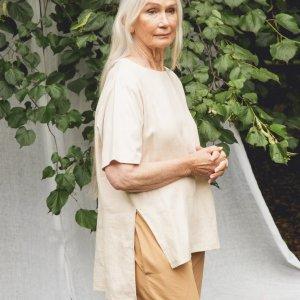 Hayley-May Linen Shirt von Beaumont Organics bei RUPP Moden