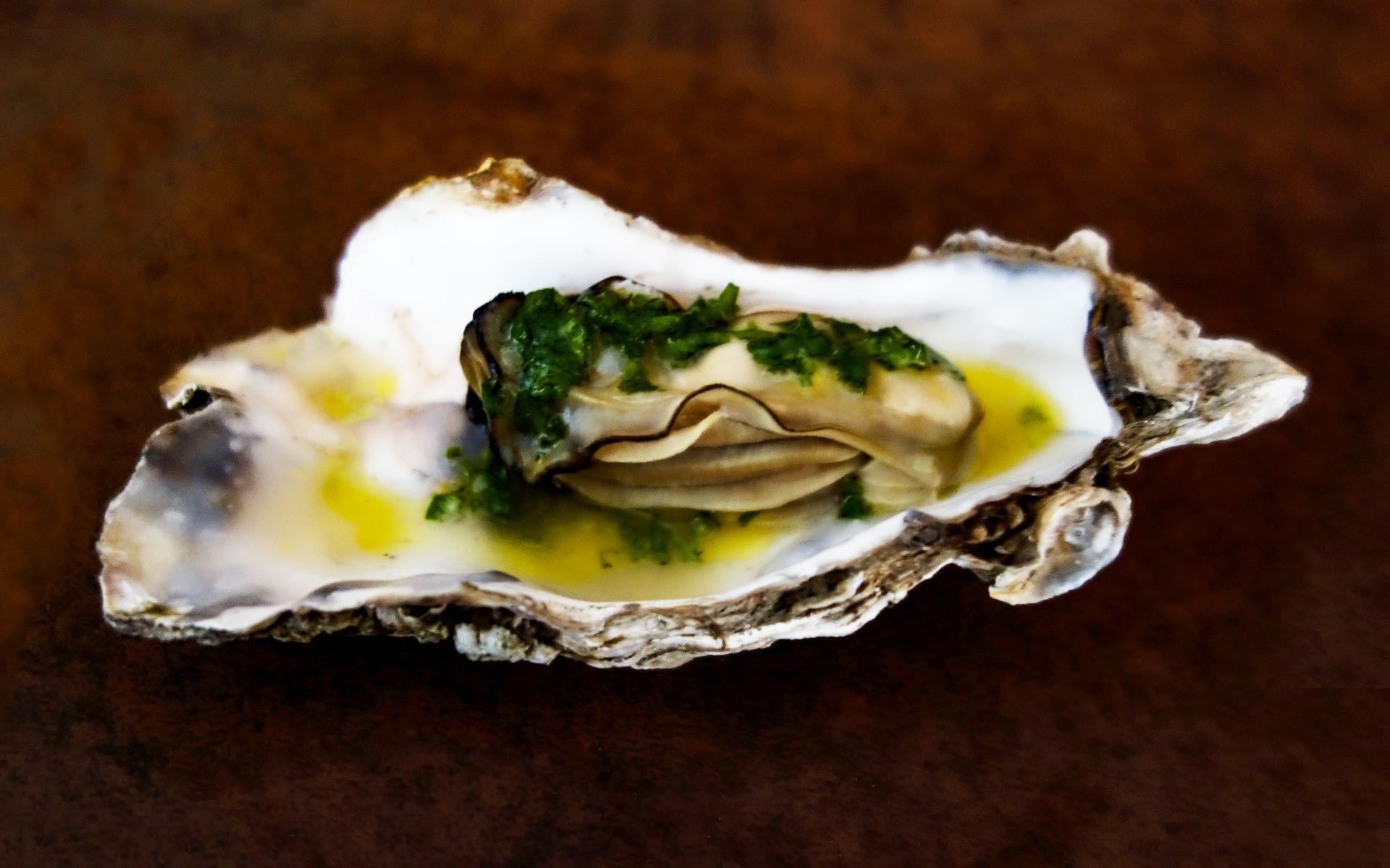 dressed oyster