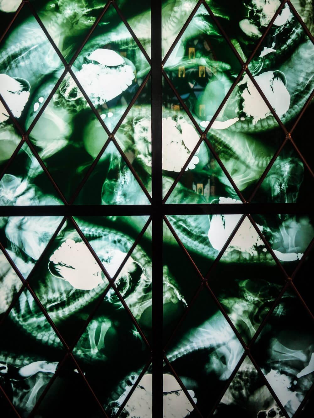 Chapelle 2006 – detail Wim Delvoye Mudam Luxemburg