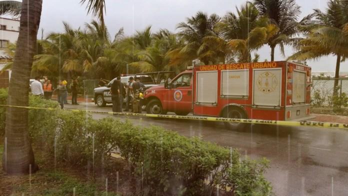 Cocodrilo bulevar Kukulcan