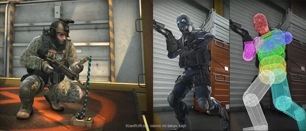 Counter Strike Global Offensive ima novi hitbox