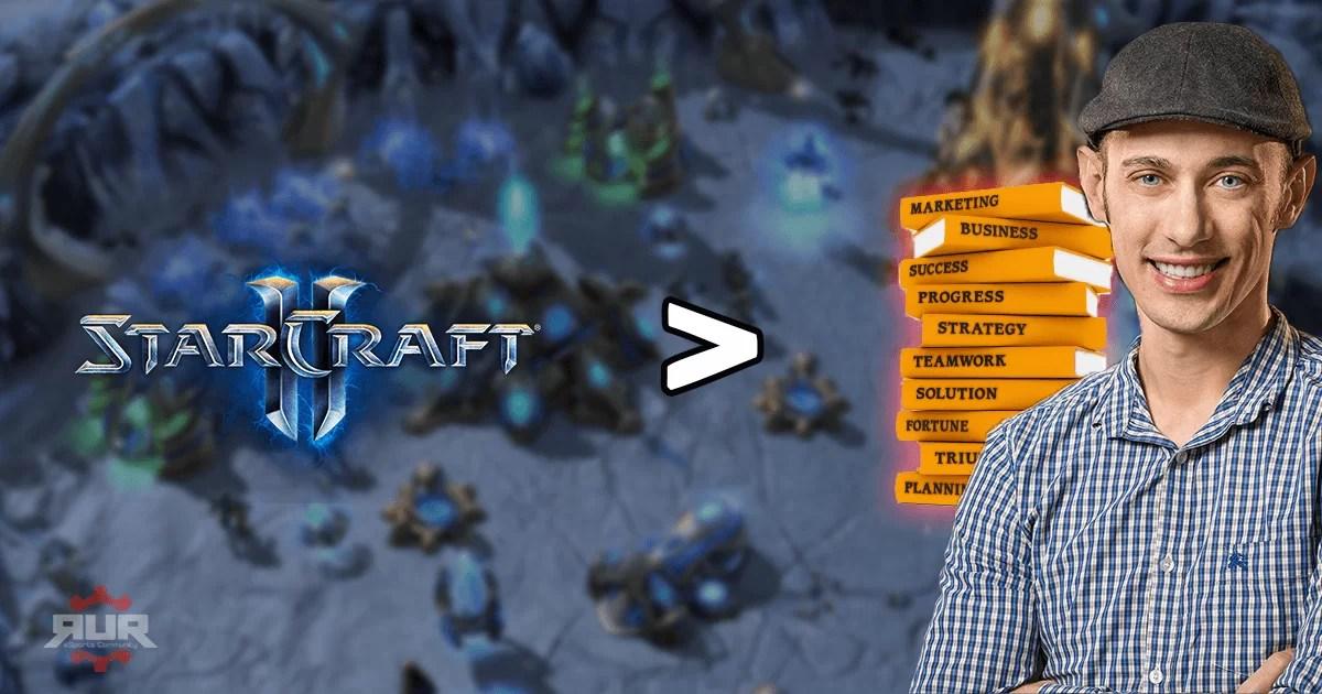 Kanadski milioner: Više sam naučio igrajući StarCraft nego iz biznis knjiga