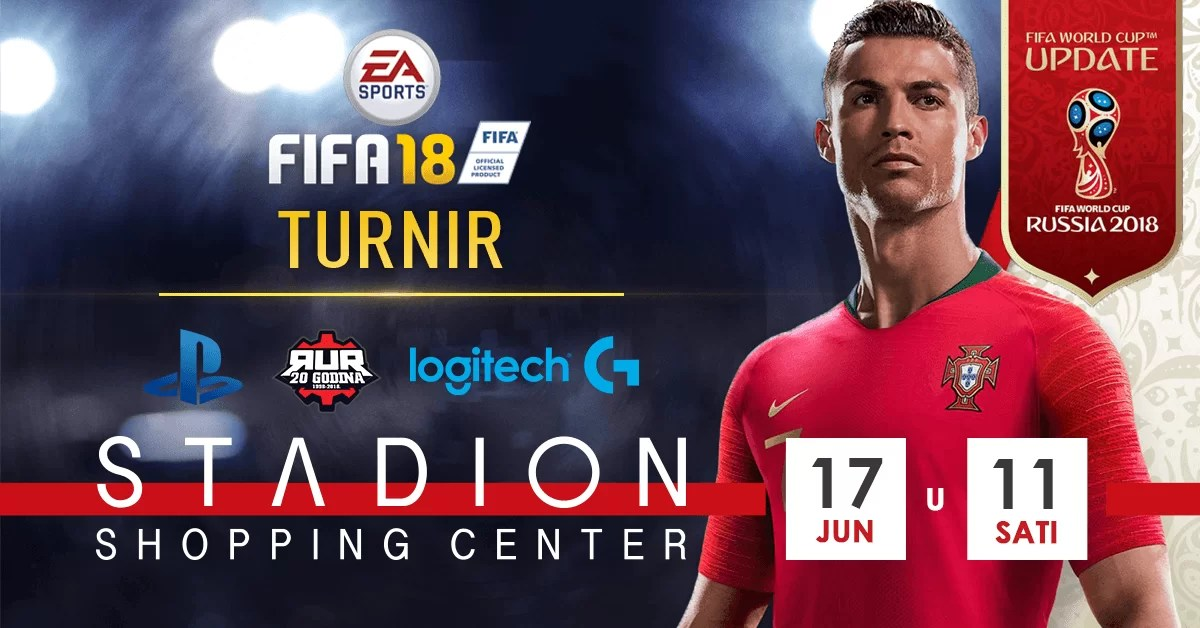 Igrajte na FIFA18 turniru ovog vikenda!