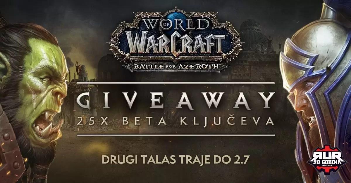 WoW Battle for Azeroth beta ključevi drugi talas!