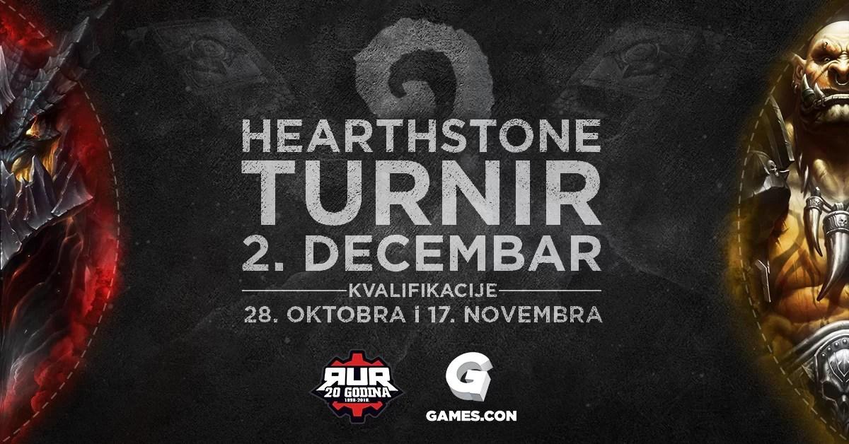 RUR Hearthstone turnir na Games.con 2018