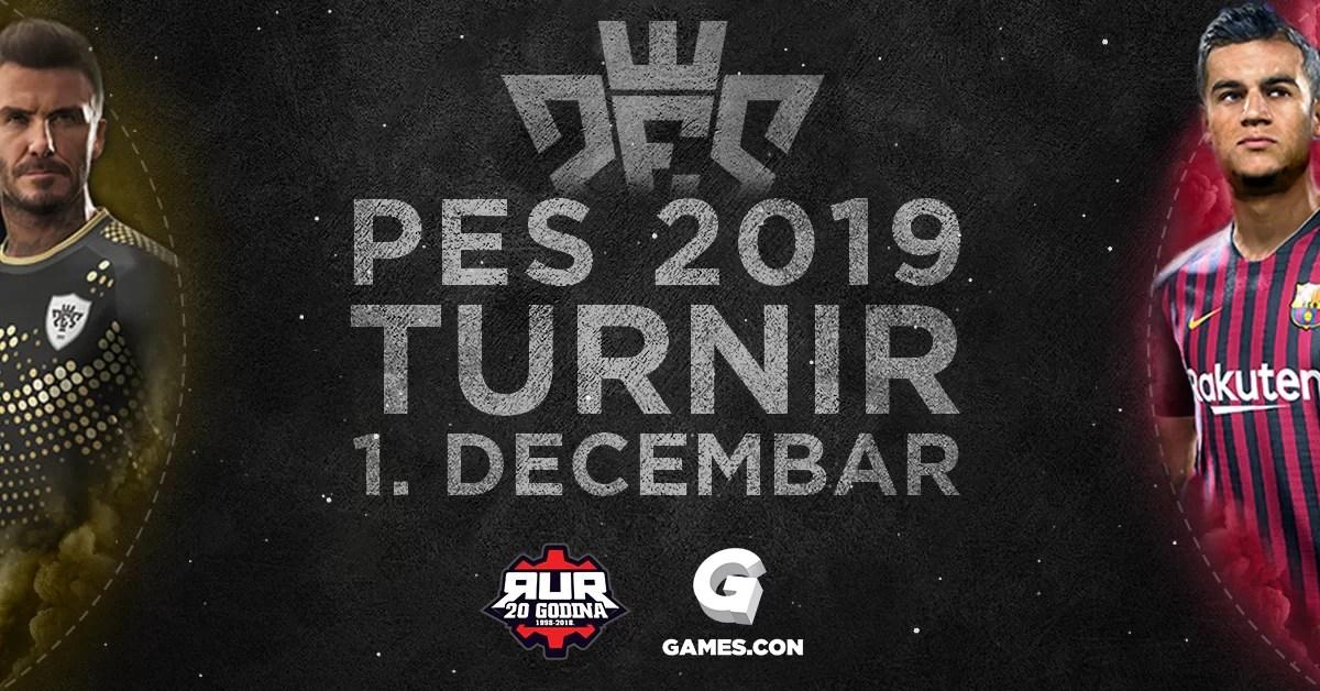 RUR PES19 turnir, Games.con 2018