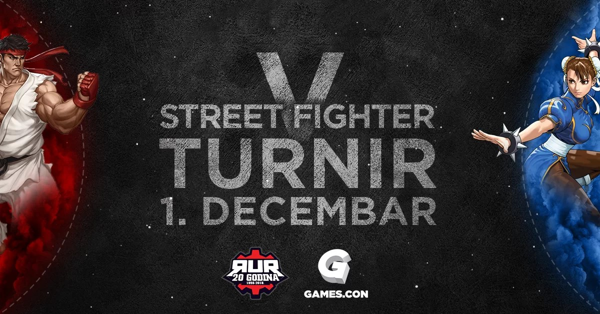 RUR Street Figther V turnir, Games.con 2018