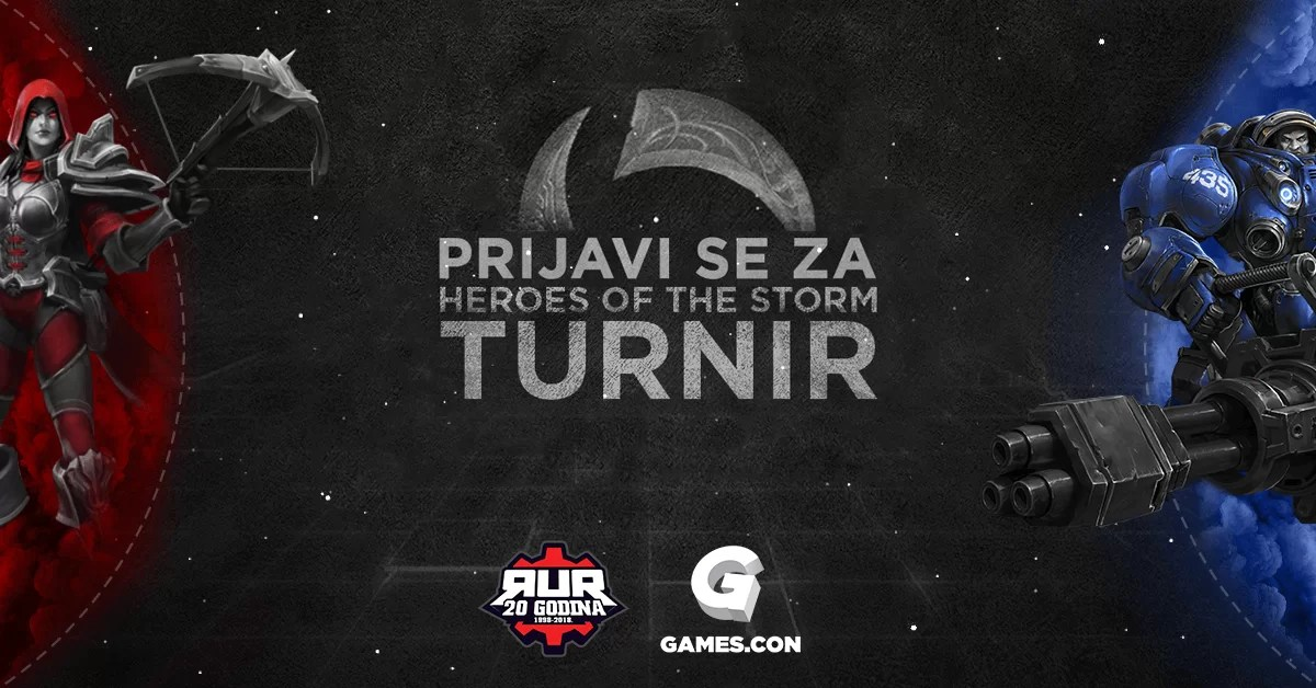 RUR Heroes of the Storm turnir na Games.con 2018