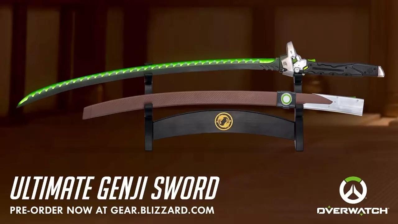 Overwatch: Želite da imate mač kao Genji? Sada možete da ga kupite!