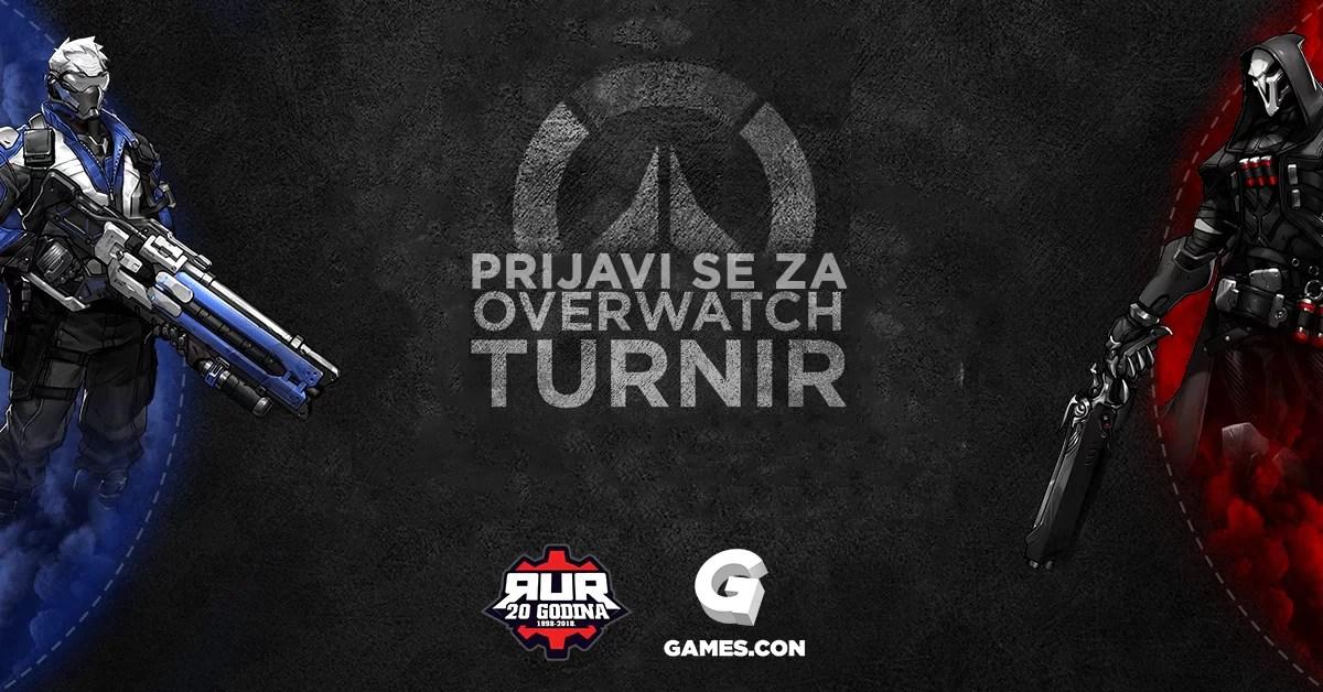 RUR Overwatch turnir, Games.con 2018