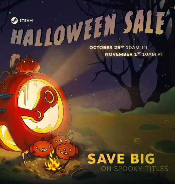 Krenula je Steam rasprodaja za noć veštica