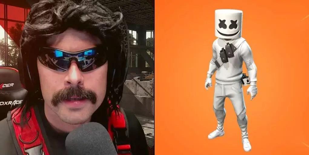 DrDisrespect iznenađen što je Marshmello dobio svoj skin u Fortnite a Ninja ne