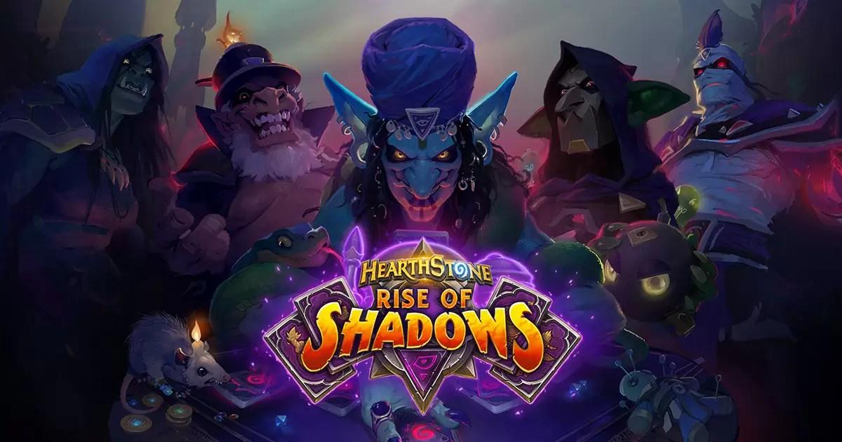 Hearthstone: Očekuje nas 12 besplatnih Rise of Shadows packova