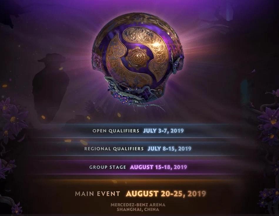 Poznati datumi kvalifikacija za Dota 2 International