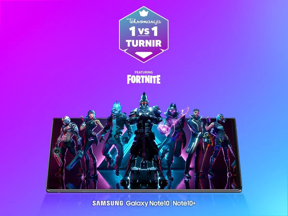 Prijavite se za FORTNITE 1v1 Tehnomanija – Samsung turnir