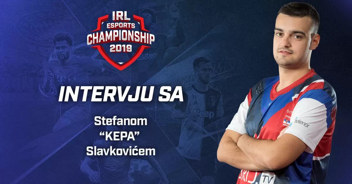 """Intervju sa Stefanom """"kepa"""" Slavkovićem – predstavnikom Srbije na svetskom PES20 šampionatu"""