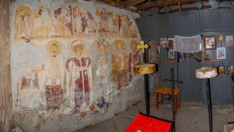 Church Ascension of Christ XV –XVI century – Chebren monastery