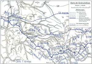 The breakthrough at Dobro Pole – First World War