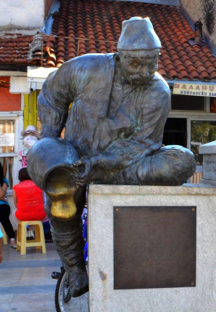 Itar Pejo monument in Prilep
