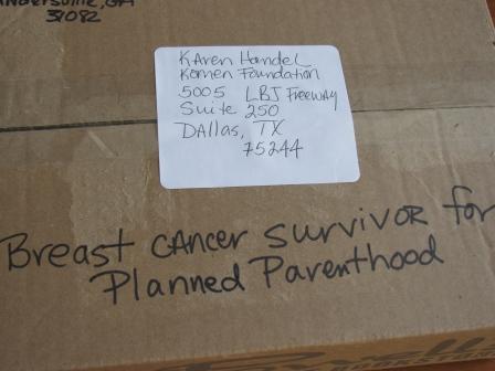 box for Karen Handel