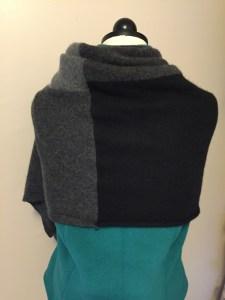 gray cashmere wrap