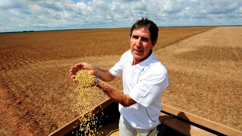 soja_produtor_agricultura (Foto: José Medeiros/ Editora Globo)