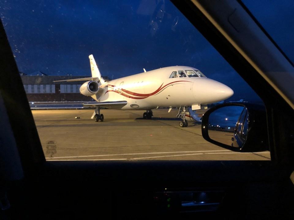 Aircraft Airside at Durham Tees Airport