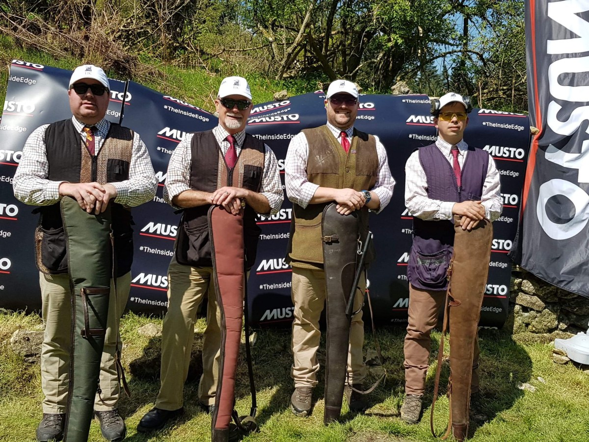 Team of Loaders at Duncombe Park charity clay day