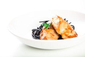 Bifes de frango com lima
