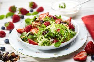 Salada de frutos vermelhos
