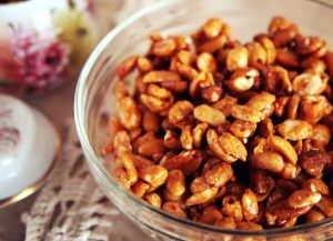 Amendoins agridoces