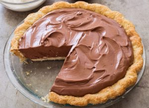 Tarte de chocolate fácil e rápida
