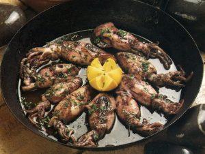 Lulinhas fritas à Algarvia
