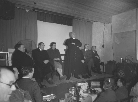 Switching on ceremony, location unknown