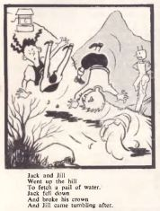 REO News, December 1951, Johnny Hotfoot comic strip