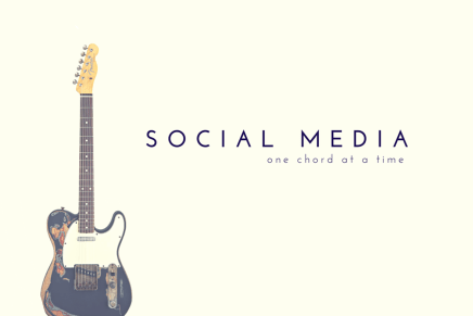 Social Media – One Chord at a Time