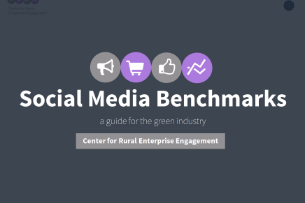 Social Media Benchmarks for the Green Industry