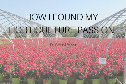 How I Found My Horticulture Passion