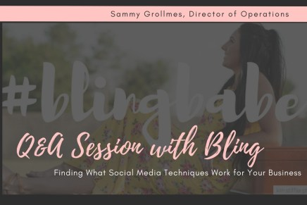 Q&A Session with Bling Boutique- Finding What Social Media Techniques Work for Your Business