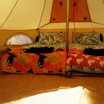 Double bell tent